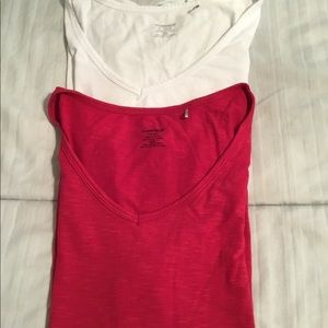 Toad & Co Short Sleeve Top Red L